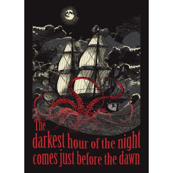 product photo of Kraken art print