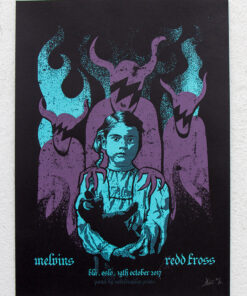 1c280a8af73 ... product photo of gig poster for Melvins and Redd Kross