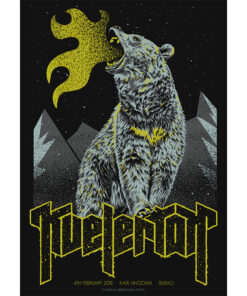 product photo of the gigposter for Kvelertak