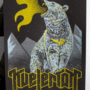 product photo of gig poster for Kvelertak
