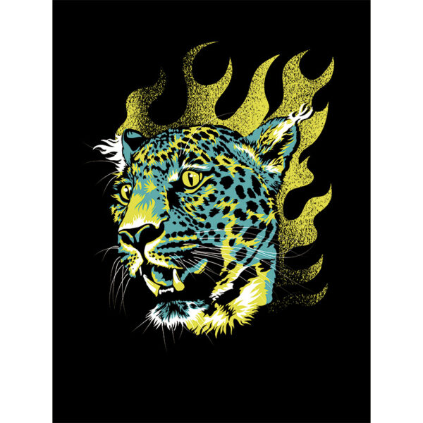producte picture of Cheetah Head art print