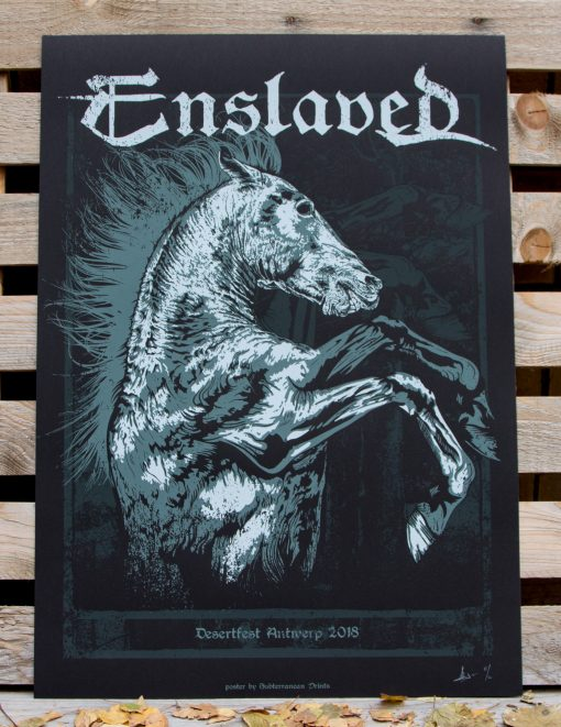 Product foto of Ensalved gig poster