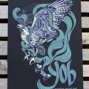 product photo of the gig poster for YOB at Desertfest Antwerp 2018