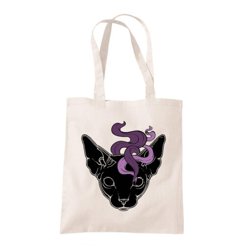 product picture of Mystic Cat tote bag