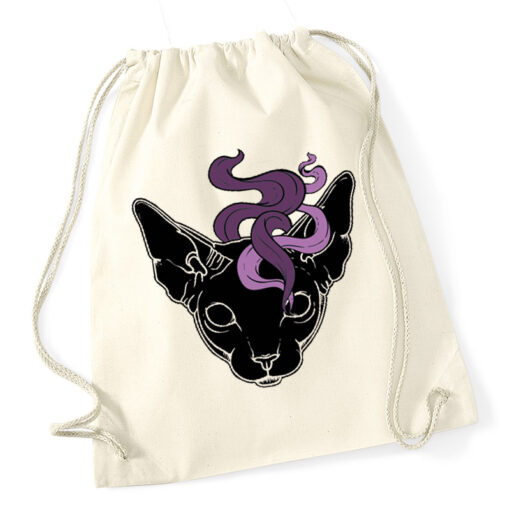 product photo of Mystic Cat gym sack