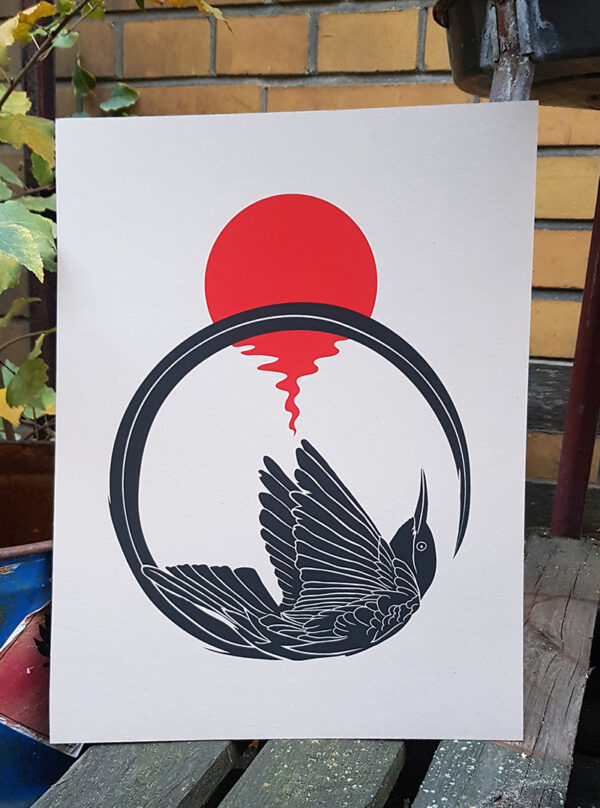product photo of Astral Bird art prin