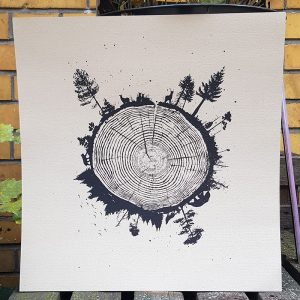 product picture of Planet Tree art print