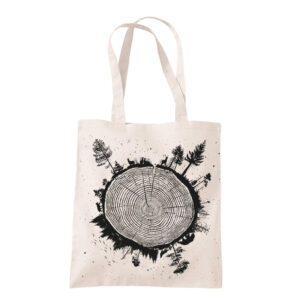 product photo of Planet Tree tote bag sand color