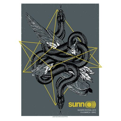 picture for Gig poster for Sunn O))), 2019