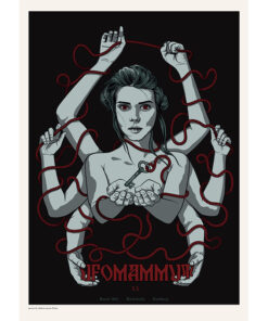 Gig poster for Ufomammut in Hamburg, 2019
