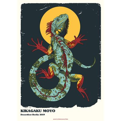 Poster for Kikagaku Moyo at Desertfest Berlin 2019