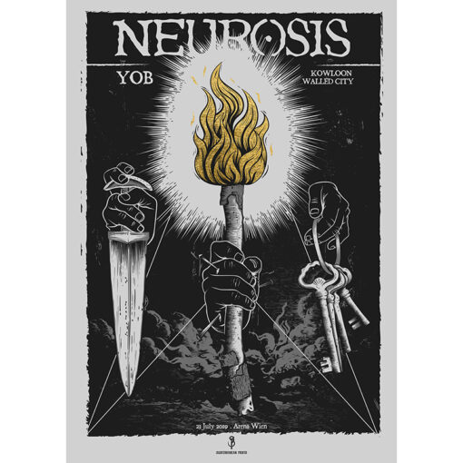 Poster for Neurosis, Vienna 2019