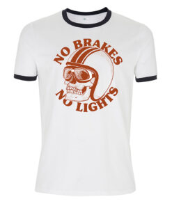No brakes, No lights t-shirt